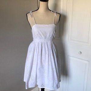❤️3X20 MARK WHITE EYELET DRESS